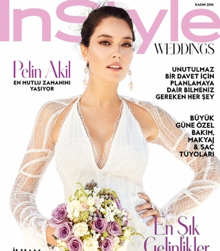 Pelin Akil Ve Anıl Altan InStyle Weddings Özel Ekinde