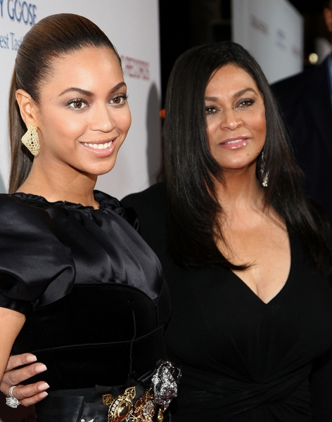 Beyonce ve Annesi Tina Knowles