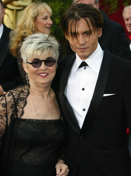 Johnny Depp ve Annesi Betty Sue Palmer