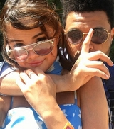 Selena Gomez ve The Weeknd'den Coachella Selfie'si