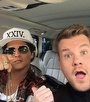 Bruno Mars Carpool Karaoke'de