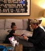 North West Ellen DeGeneres ile Kuliste